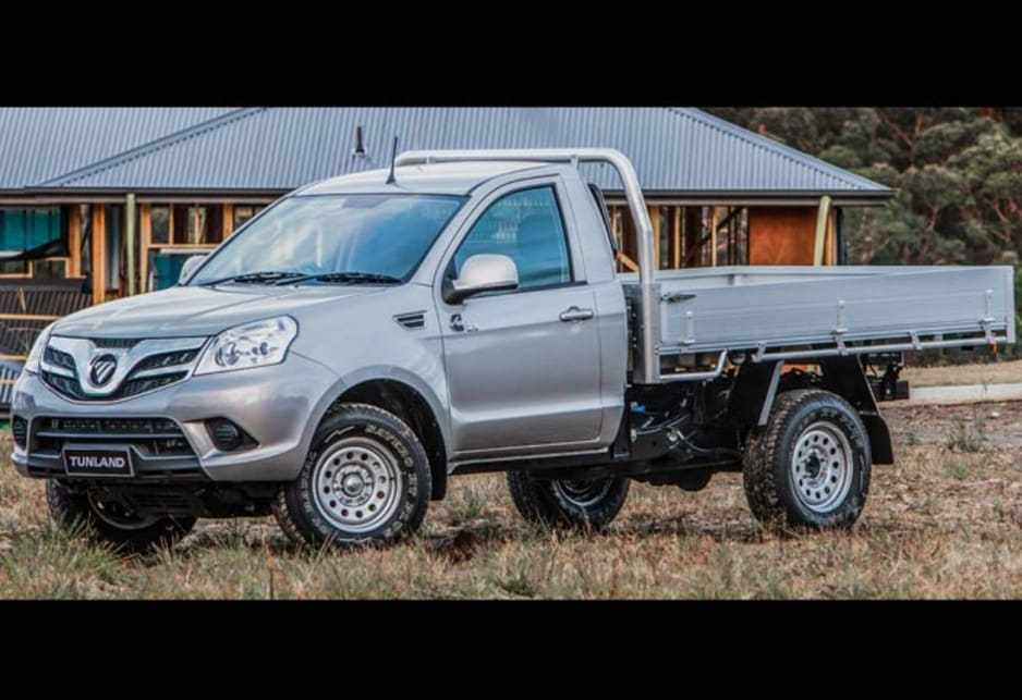 Those powertrain companies charge royalties for their technology, which makes Foton's price point higher (from $24,990 drive away) than the likes of Great Wall and the other cheap utes from Indian manufacturers Tata and Mahindra, but the Foton is way better.