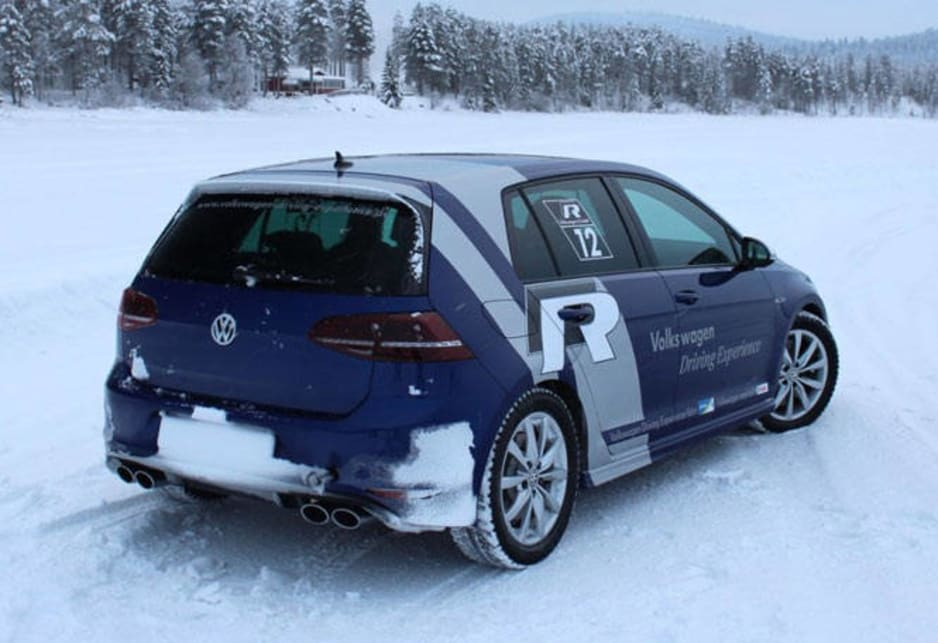 Thankfully the Golf R's 4Motion all-wheel drive system is ready to play both sides; as we experienced on the ice, it's ready to respond quickly and send up to 100 per cent of power to the rear wheels if needed.