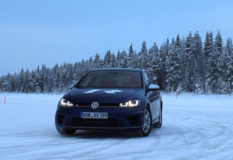 We've just driven the 2015 Volkswagen Golf R - but there's a little asterisk attached to any claim of this being a full review: We really only drove it on ice - on a frozen lake up in northern Sweden, an area often used for cold-weather testing.