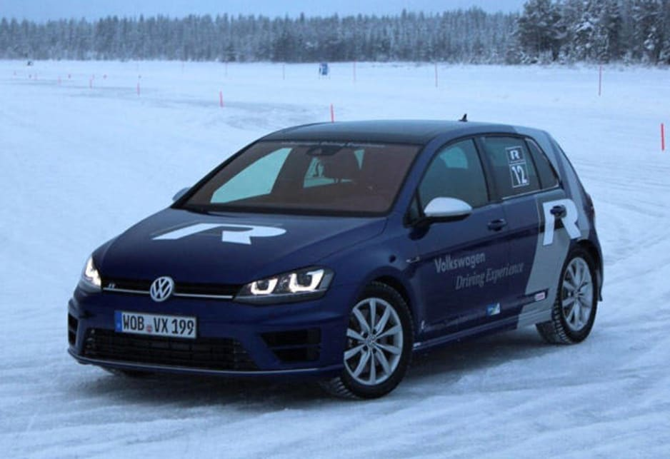 Why on the ice? Partly, it served to show off just how well the Golf R's 4Motion all-wheel drive system can fit the traction needs of the moment; and partly, it emphasised the differences between stability modes and driving, including a snarling new Race Mode.