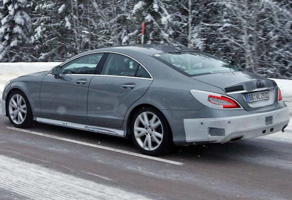 2015 Mercedes CLS | spy shots