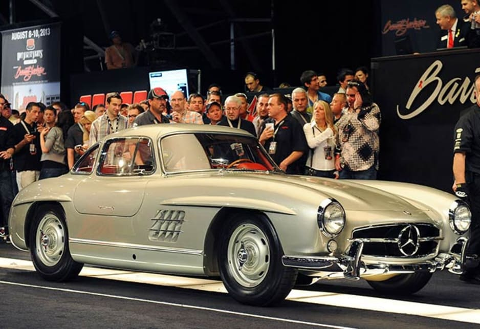 At the beginning there were no plans to make the 300SL into a road car, but in 1953 the Benz Board was persuaded by its American importer , Max Hoffman, that a luxury, road version of the race car would have instant appeal for his rich and famous American clientele.