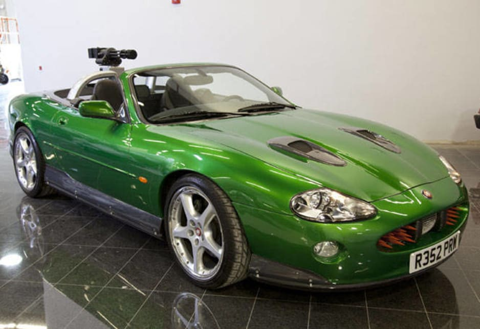 The Jaguar XKR from Die Another Day.