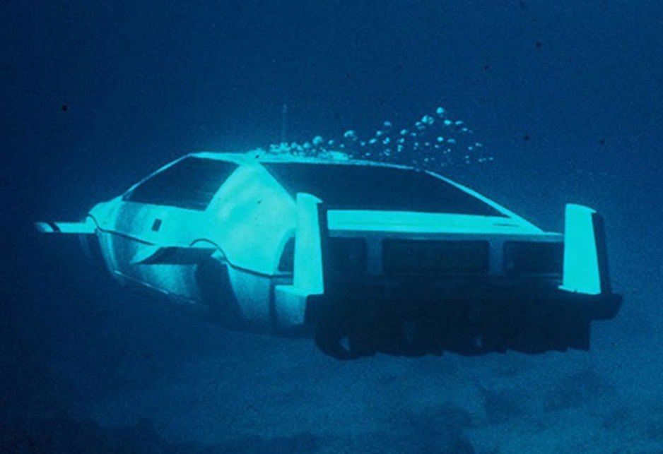 The famed Lotus Esprit S1 that morphed into a submarine in The Spy Who Loved Me is one of star vehicles.