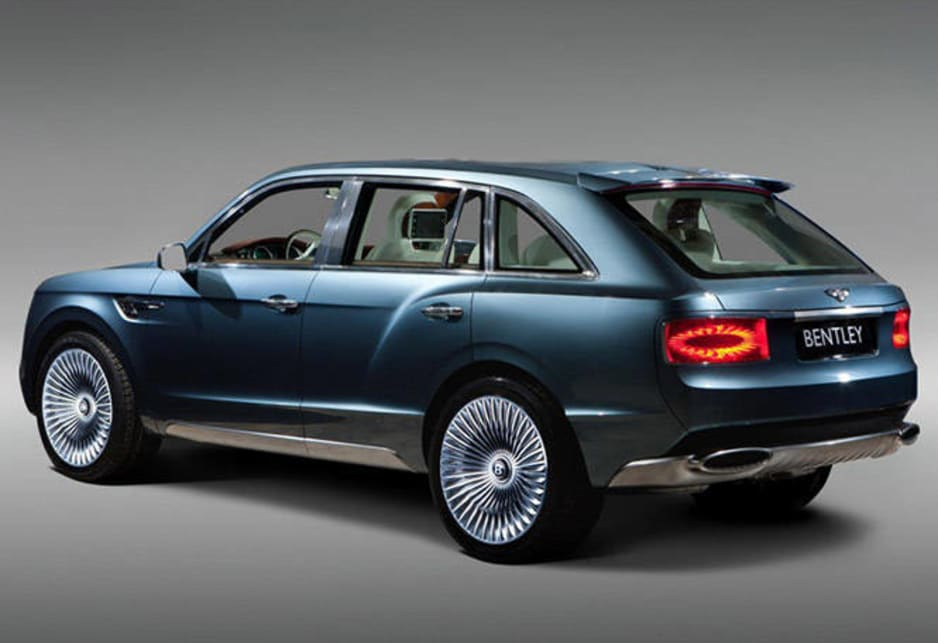 2012 Bentley EXP 9 F SUV concept.