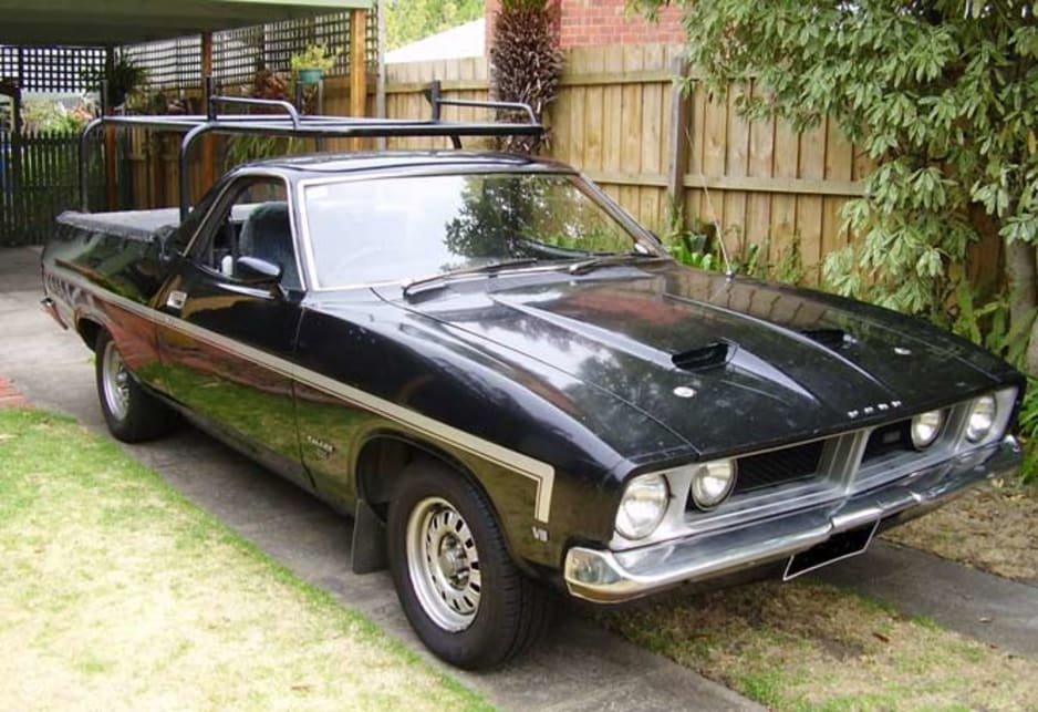 My 'one owner' 1974 XB Falcon Ute
