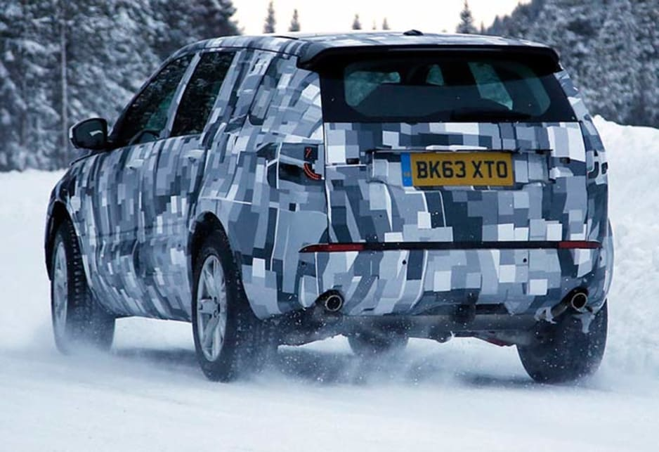 Land Rover Discovery | spy shots