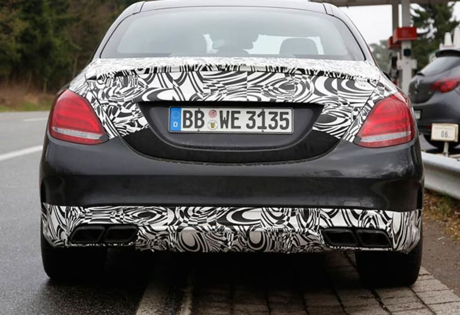 Mercedes-Benz C63 AMG | spy shots