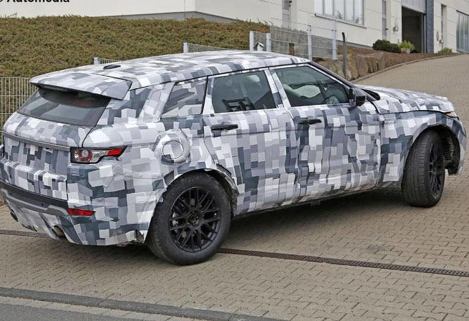 Jaguar SUV | spy shots