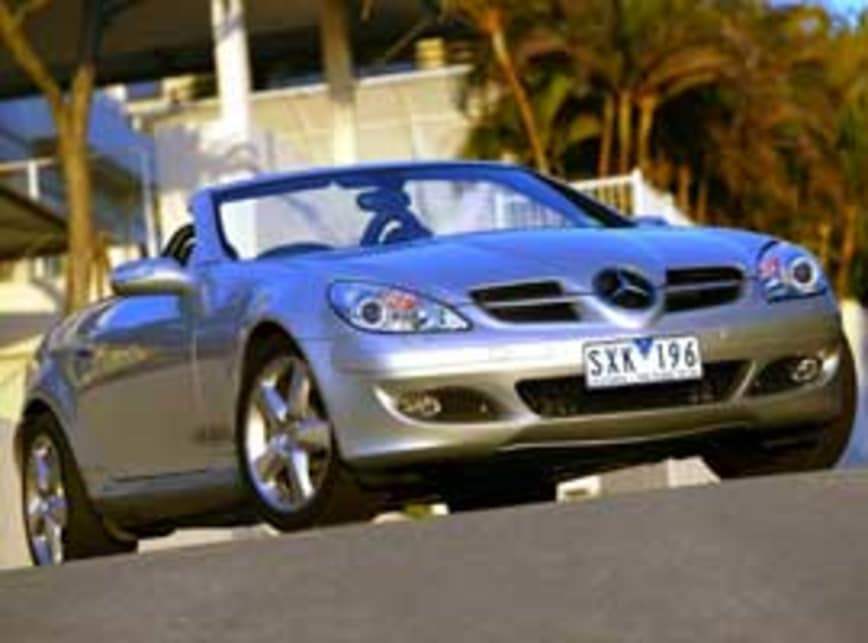 Mercedes Benz Slk Class 2005 Review Carsguide