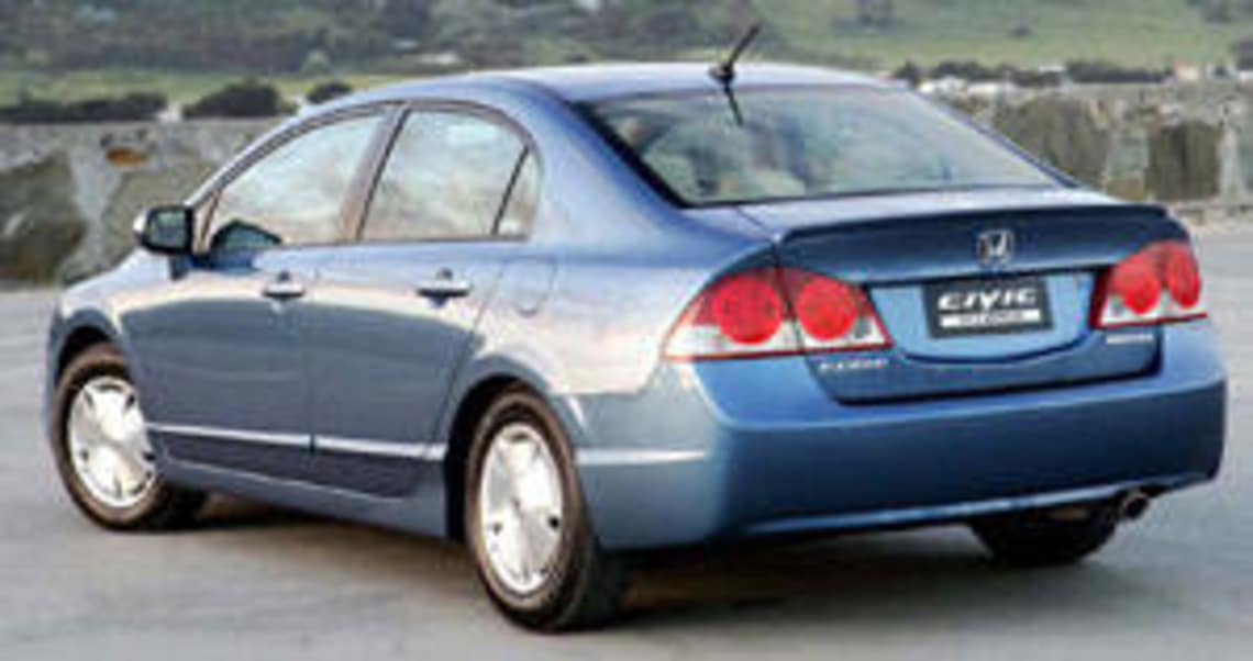 Honda Civic Hybrid 2006 Review Carsguide