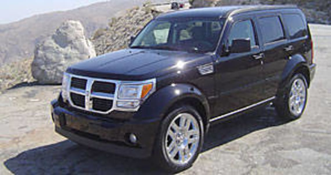 Dodge Nitro 2007 Review Carsguide