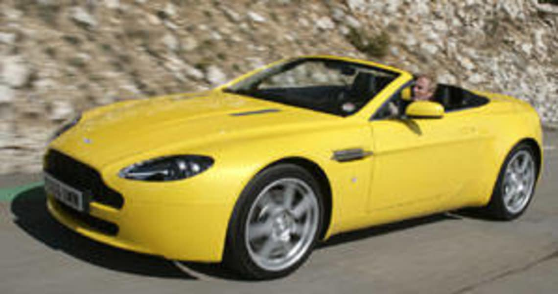 Aston Martin V8 Vantage Roadster 2007 Review Carsguide
