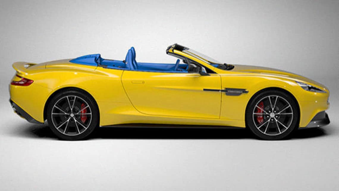 Build Your Own Aston Martin Vanquish Volante Online Car News Carsguide
