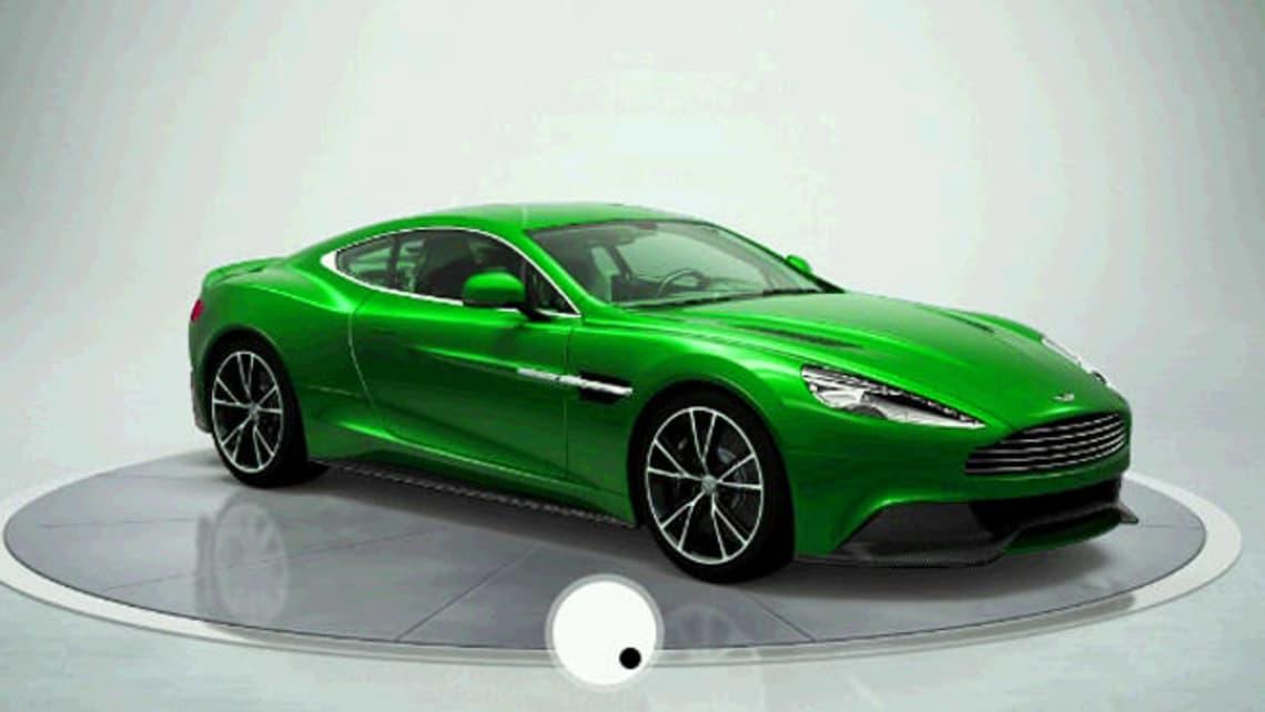 Aston Martin Vanquish Configurator Online Carsguide