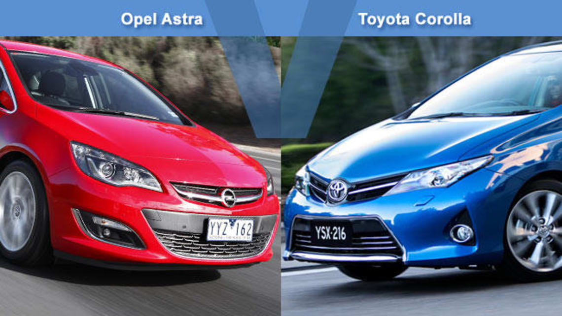 Opel Astra Select Vs Toyota Corolla Levin Review Carsguide