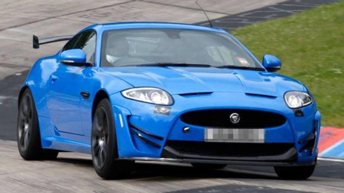 Jaguar XK-RS spy shot - Car News | CarsGuide