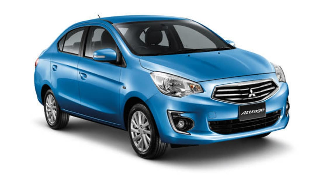 Mitsubishi Attrage May Come Here Car News Carsguide