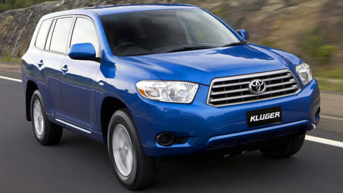 Used Toyota Kluger Review  2007