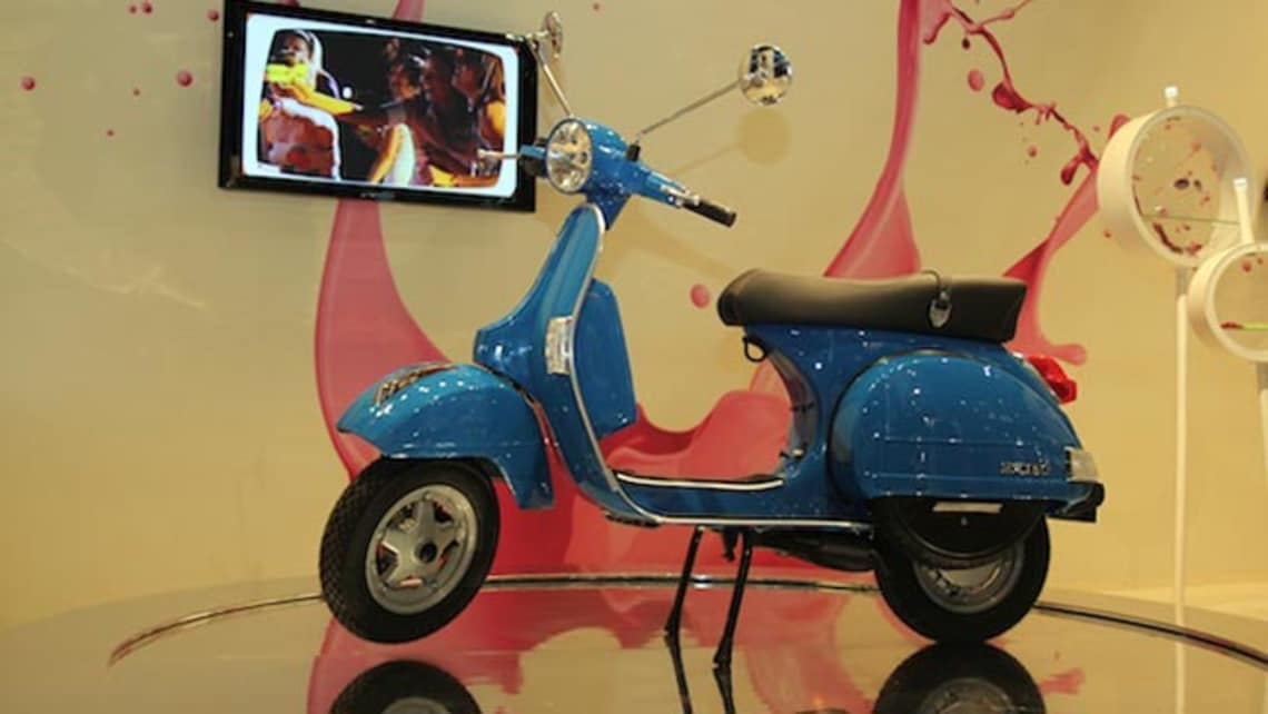 Vespa PX 2012 Review   CarsGuide