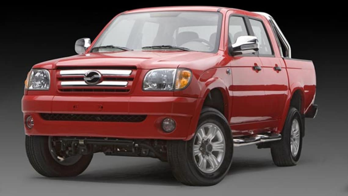 Chinese ZX Auto Grand Tiger ute here in July - Car News ...