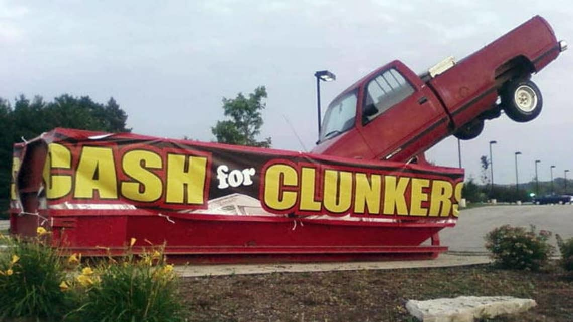 Cash For Clunkers >> Cash For Clunkers Doomed Car News Carsguide