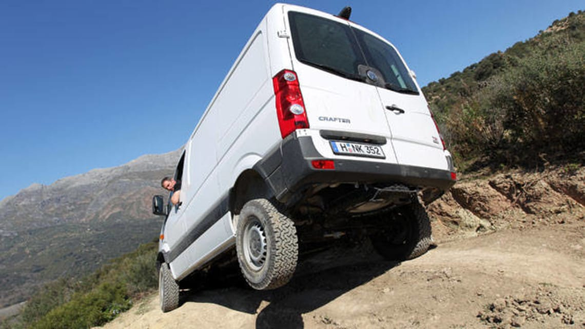 Vw Crafter Targets Industry Van Market Car News Carsguide