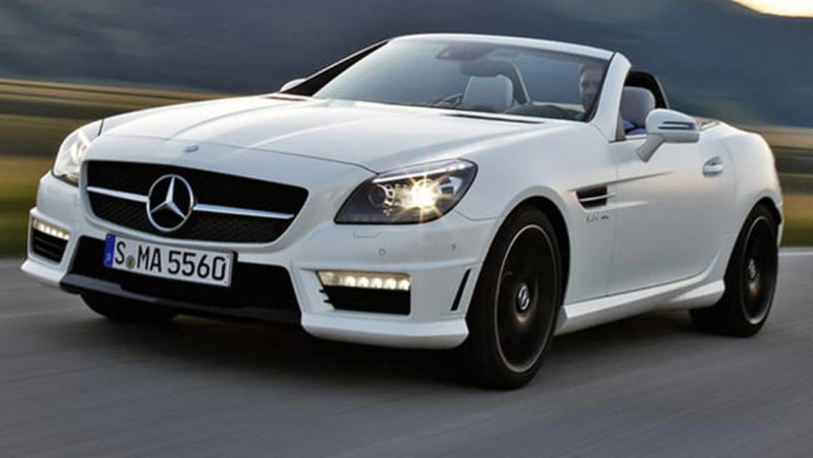 Mercedes Benz Slk Class Slk55 2012 Review Carsguide