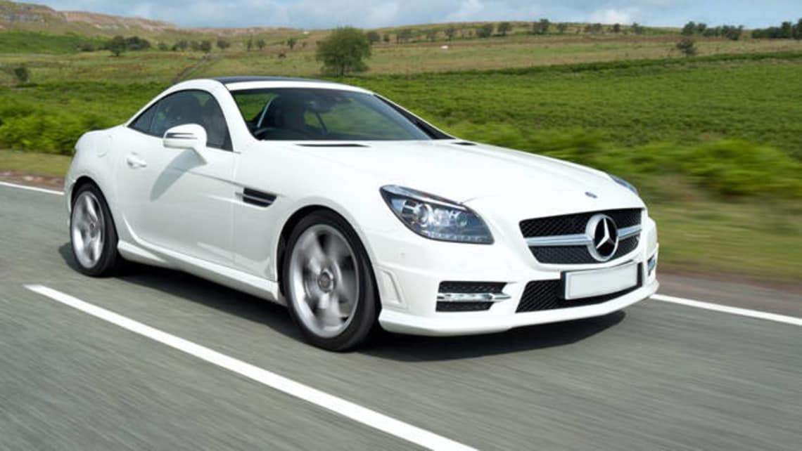 Used Mercedes-Benz SLK-Class by Year
