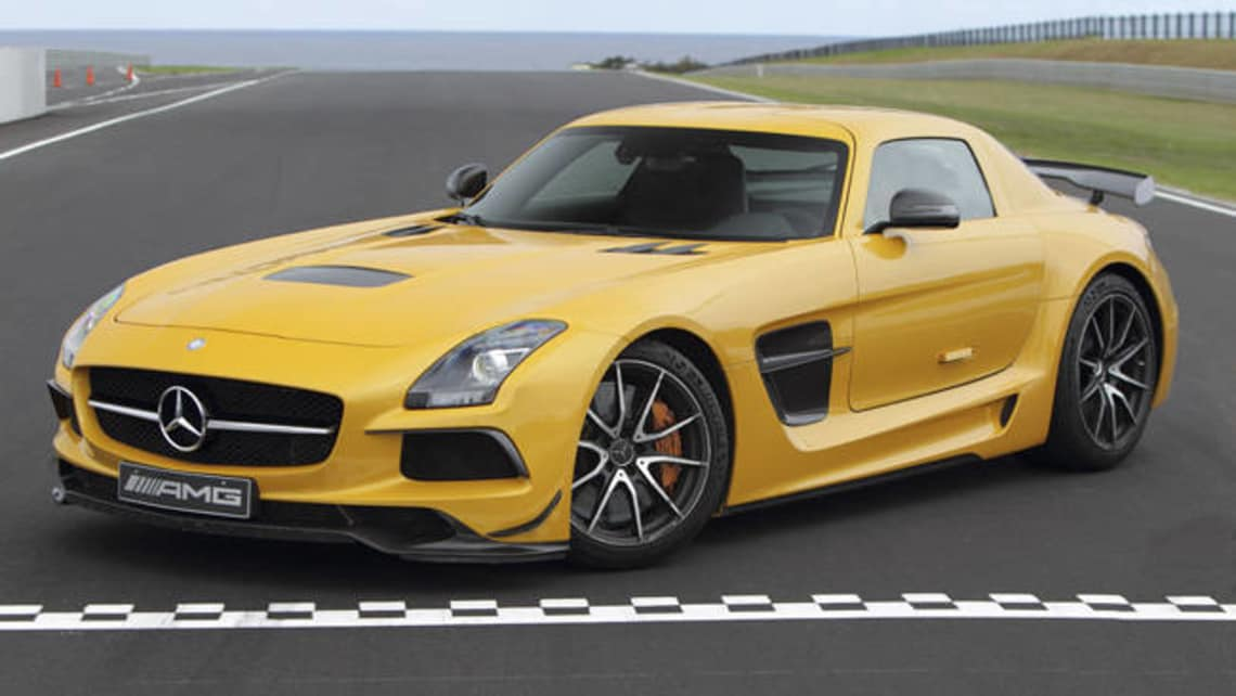 Sls Black Series >> Only Two Mercedes Benz Sls Amg Black Series Left Car News