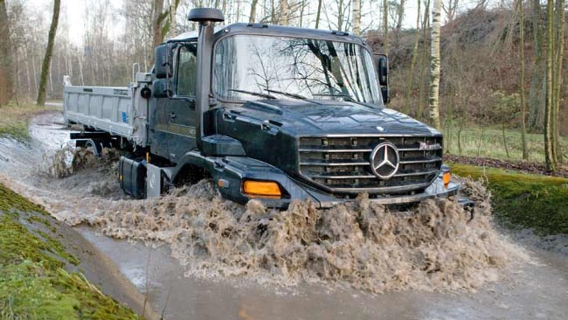 Mercedes Benz Zetros May Go On Sale Car News Carsguide