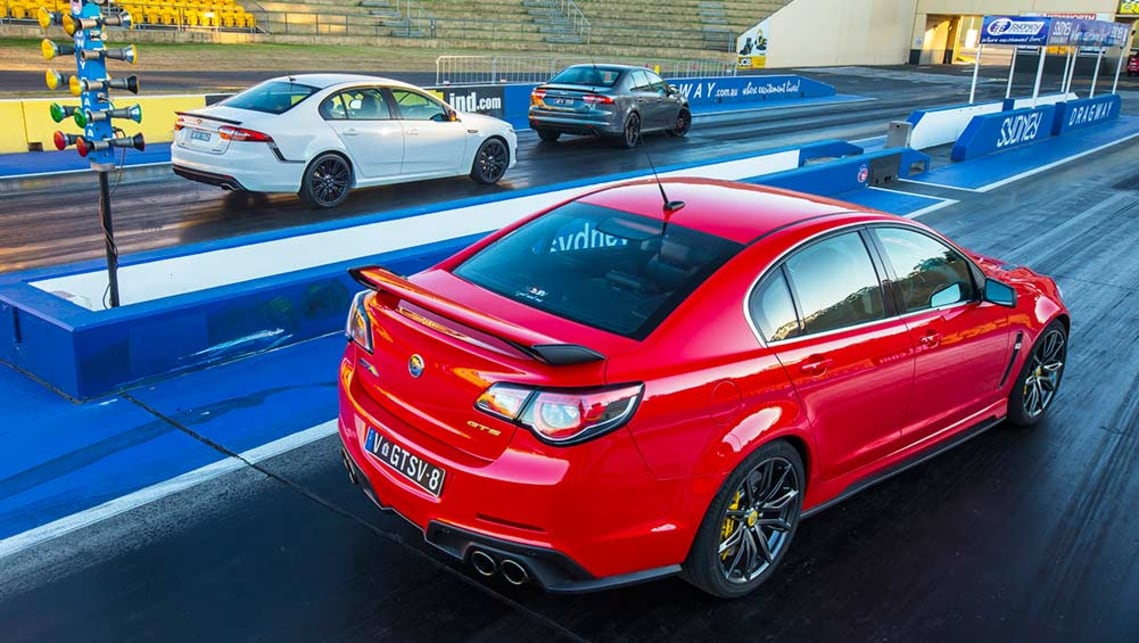 2016 Falcon XR6 Sprint, XR8 Sprint and HSV GTS.