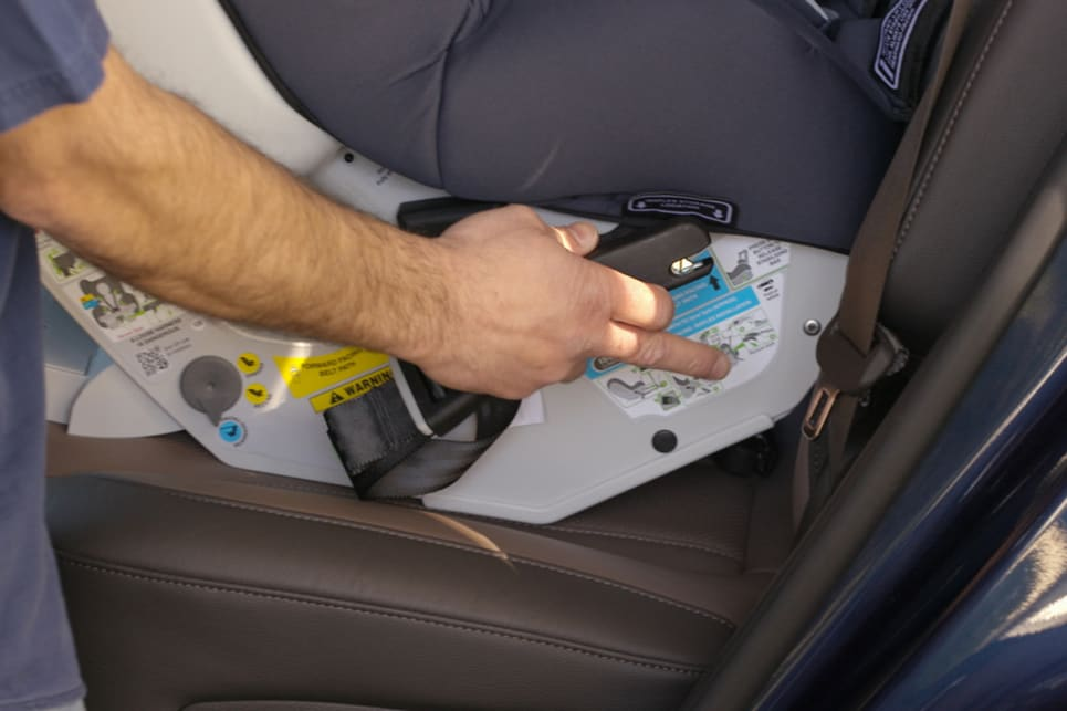 Baby Car Seat Installation - How to Install a Car Seat