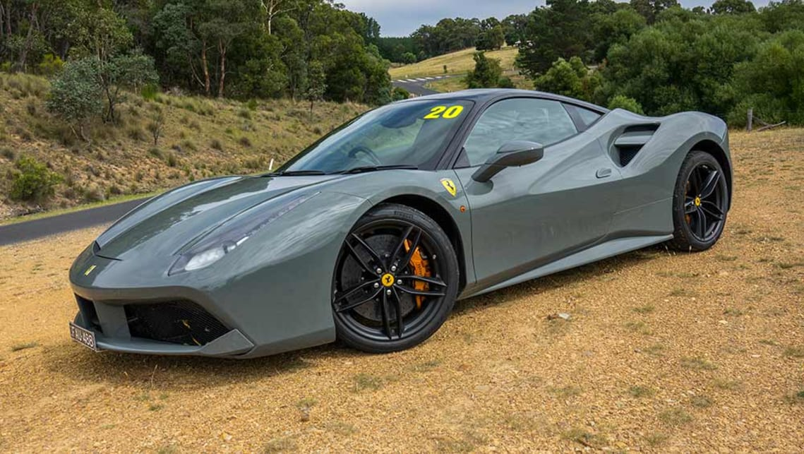 2017 Ferrari 488 GTB. Image credit: James Cleary.