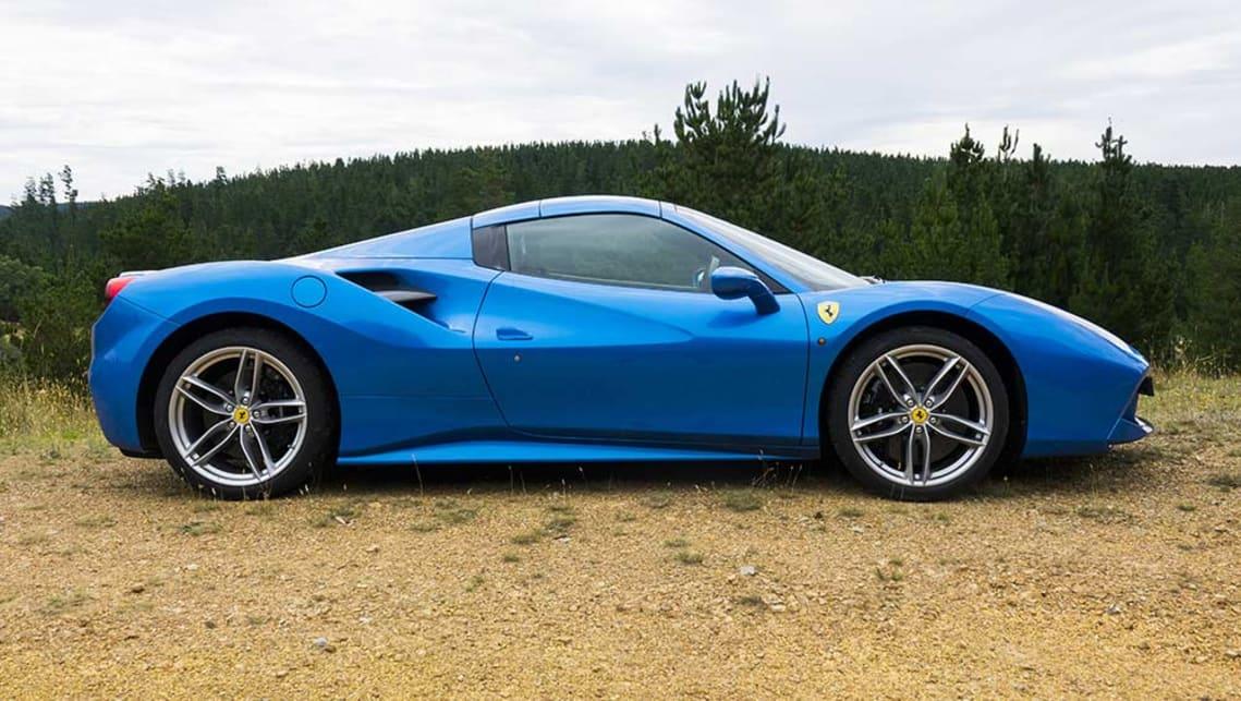 2017 Ferrari 488 Spider >> Ferrari 488 Spider 2017 Review Carsguide