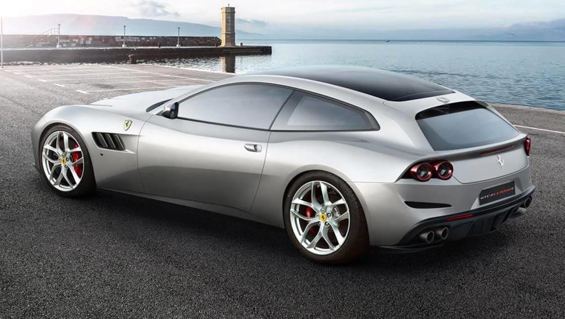 2017 Ferrari Gtc4 Lusso T Revealed Ahead Of Paris Car News Carsguide