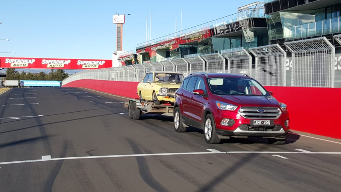 We managed to squeeze in a lap of Mount Panorama once we hit Bathurst.
