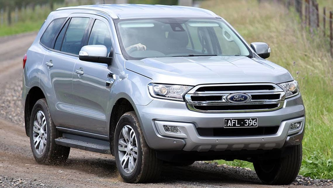 2015 Ford Everest Trend