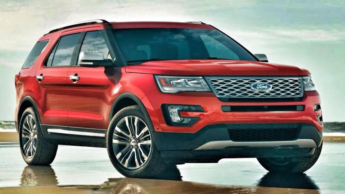 New Ford Explorer >> New Ford Explorer Points To New Territory Car News Carsguide