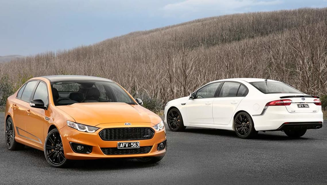 2016 Ford Falcon XR6 and XR8 Sprint