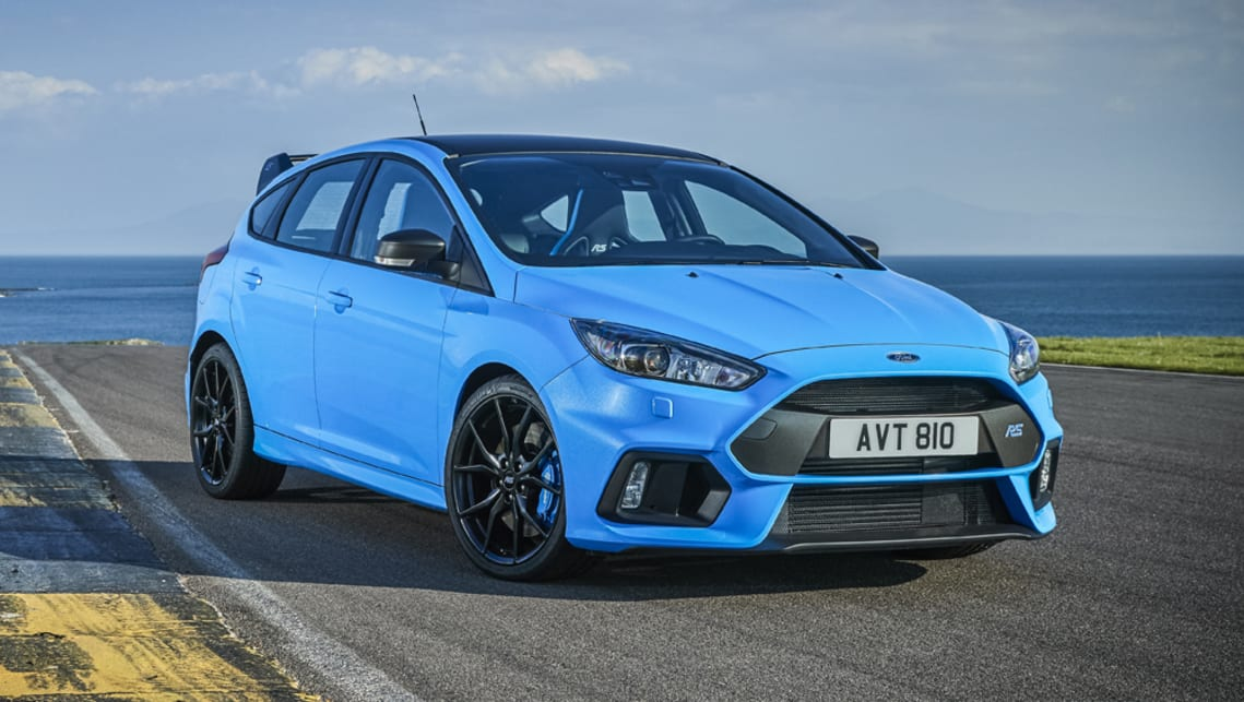 Ford Focus Rs Limited Edition 2017 Pricing And Spec Confirmed Car News Carsguide