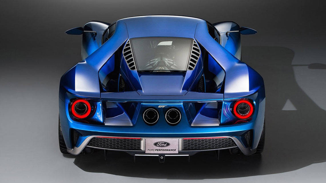 Photo shows the 2015 Ford GT supercar. (Photo: Supplied)