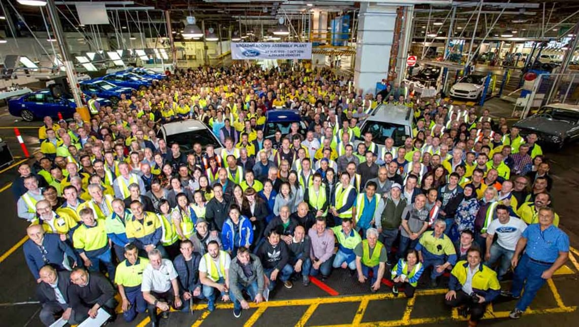 Ford's Broadmeadows assembly plant.