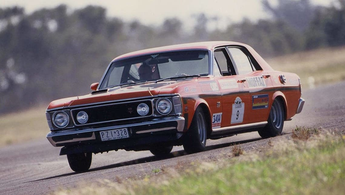 Graham Smith's 1970 XW Ford Falcon GTHO.