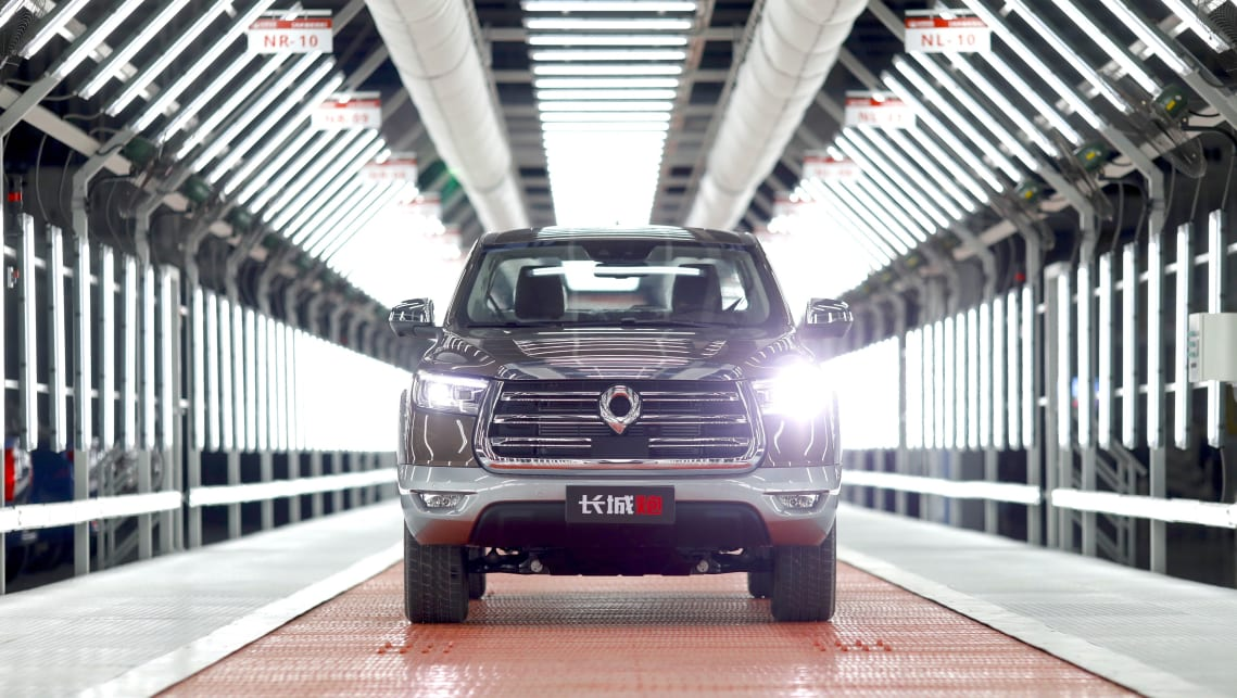 Great Wall Cannon: new HiLux-rival ute is built at Tesla