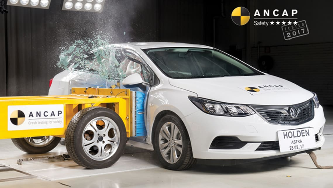 The Astra sedan achieved an overall score of 34.94 points out of 37.