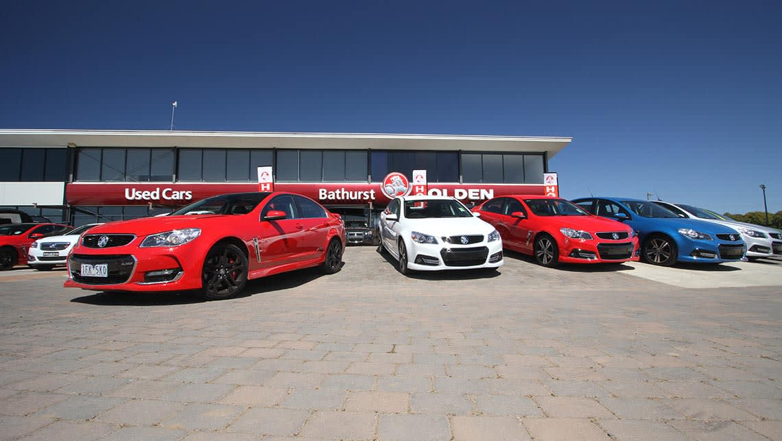 2015 VF Series II Holden Commodore SS-V Redline sedan at Bathurst City Holden. Photo credit: Joshua Dowling