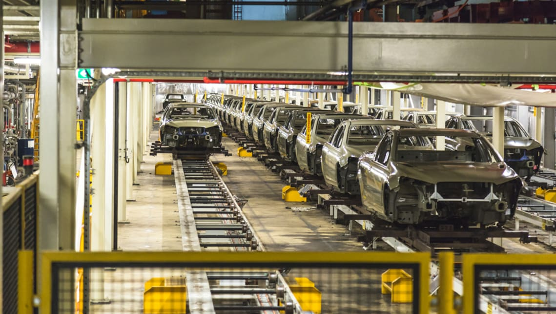 Holden's last car factory, in Elizabeth, will finish up this Friday alongside the remaining 945 manufacturing jobs.