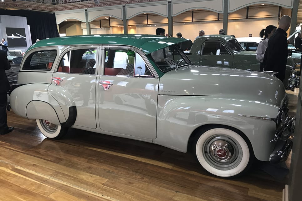 Holden FJ wagon. (image credit: James Cleary)