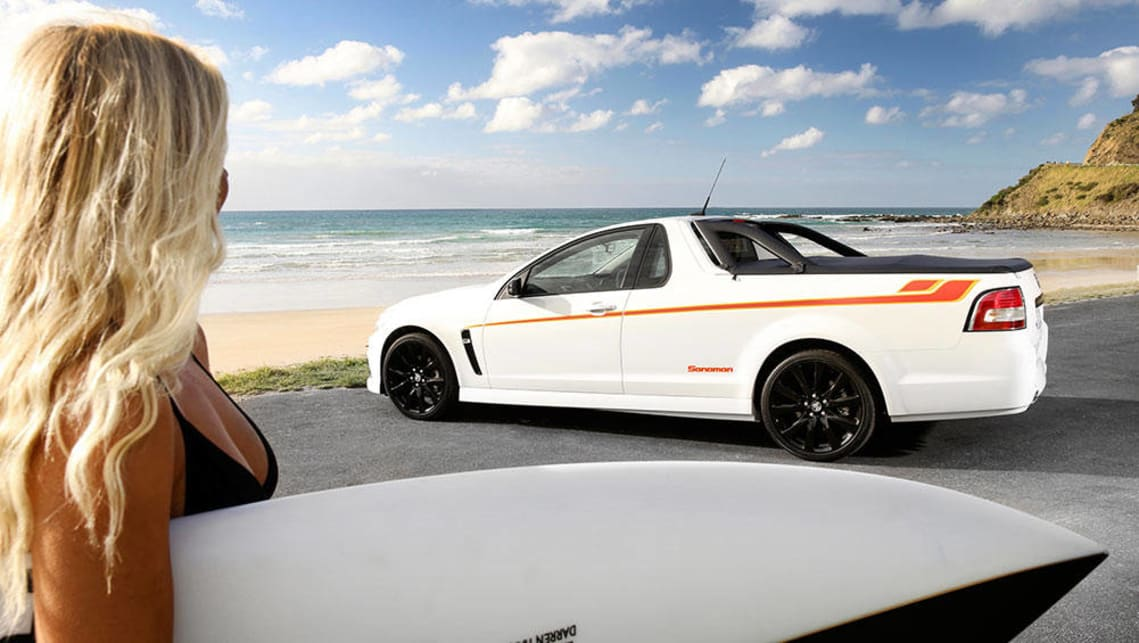Holden Sandman tribute edition ute, 2015. Picture: Supplied.